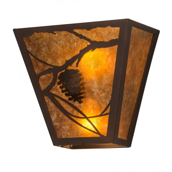Whispering Pines Wall Sconce Meyda Lighting Lighting Outfitters