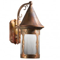 Castle Hill Fixed Arm Wall Sconce