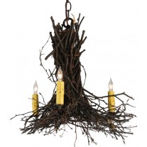 Twigs 20W' Chandelier Meyda Lighting