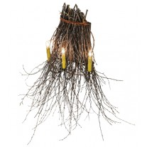 "Twigs 36""W Wall Sconce 3 LT Meyda Lighting"