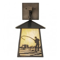 Fly Fishing Wall Sconce Meyda Lighting