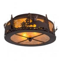 Moose Flushmount Drop Ceiling Light Meyda Lighting
