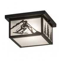 Skier Flushmount Ceiling Light Meyda Lighting