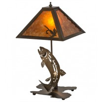 Leaping Trout Table Lamp Meyda Lighting