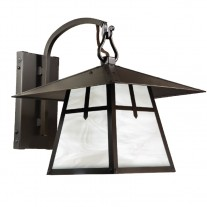 Arts and Crafts Hook Arm Wall Sconce Palisades