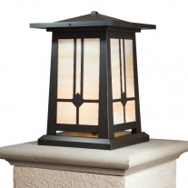 Waverly Craftsman Column Mount Lighting