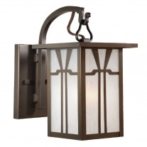 Craftsman Hook Arm Wall Sconce Woodfield