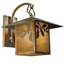 Bungalow Hook Arm Wall Sconce Brookdale