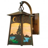 Baldwin Hook Arm Wall Sconce