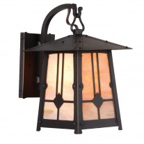 Poplar Glen Hook Arm Wall Sconce