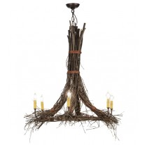 Twigs 36W' Chandelier Meyda Lighting