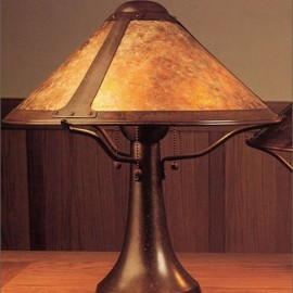Craftsman Trumpet Table Lamp 005 Mica Lamp