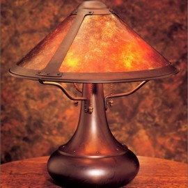 Craftsman Small Onion Table Lamp 006 Mica Lamp