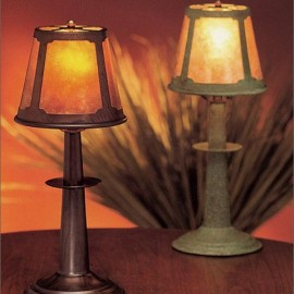 Craftsman Buffet Table Lamp 012 Mica Lamp