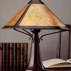 014 Large Trumpet Table Lamp