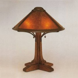 050 Bungalo Table Lamp Mica Lamp