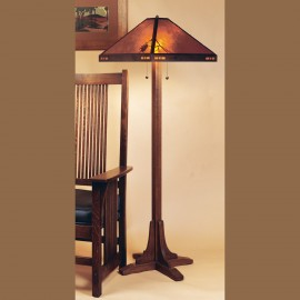 052 Pasadena Bungalow Floor Lamp