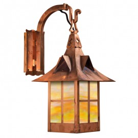 Bridgeview Hook Arm Wall Sconce