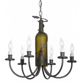 Wine Bottle Chandelier 112640 Meyda Tiffany
