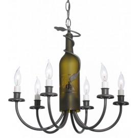 Wine Bottle Chandelier 112640 Meyda Tiffany