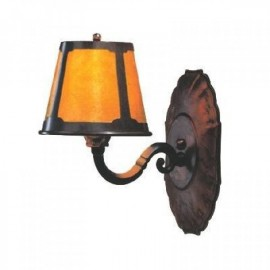 122 Craftsman Wall Sconce Mica Lamp