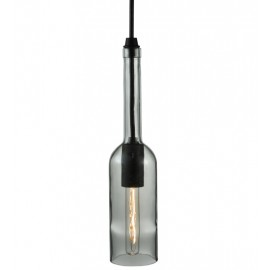 134167 Meyda Clear Bottle Wine Bottle Mini Pendant