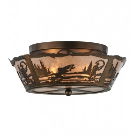 170968 Fly Fishing Flushmount Drop Ceiling Light Meyda Lighting
