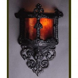 LF100 Gothic Wall Sconce Mica Lamps