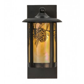 150578 Pine Cone Solid Wall Sconce