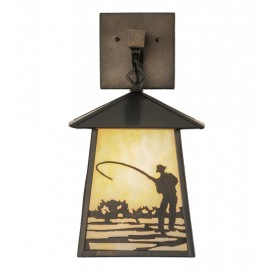 150682 Fly Fishing Wall Sconce Meyda Lighting