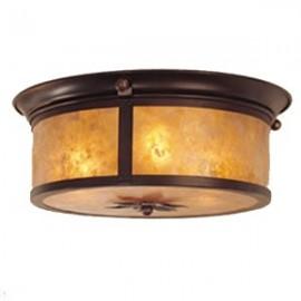 """150NF Lantera 14"""" Ceiling Mount Mica Lamp"""