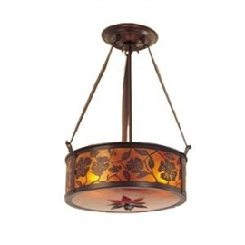"153 Lantera 20"" Chandelier Mica Lamp"
