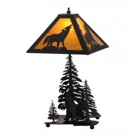 152949 Howling Wolf Table Lamp Meyda