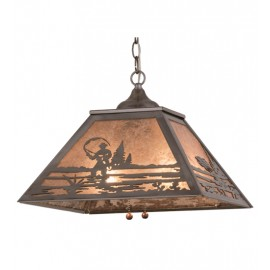 15674 Fly Fishing Pendant Meyda Lighting