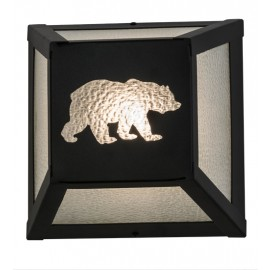 162703 Bear Northwoods Wall Sconce Meyda Lighting