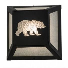 162703 Bear Northwoods Wall Sconce Meyda Lighting