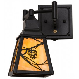 165430 Whispering Pines Swing Arm Wall Sconce