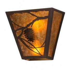Whispering Pines Wall Sconce Meyda Lighting