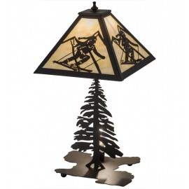 181467 Alpine Skier Table Lamp Meyda