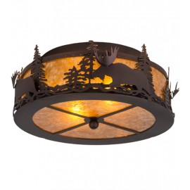 184267 Moose Flushmount Meyda Lighting