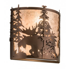 187282 Moose Wall Sconce Meyda Lighting