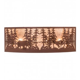 19027 Wildlife at Dusk Wall Sconce Meyda