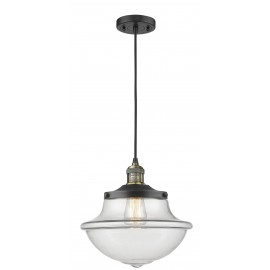 201C Oxford School House Corded Pendant