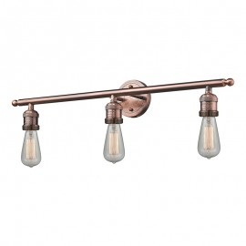Bare Bulb 3 Light Wall Sconce Innovations