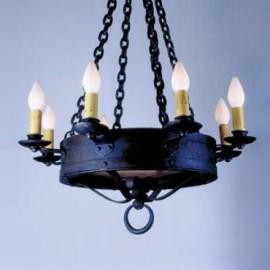 LF520 Monterey Chandelier Mica Lamps