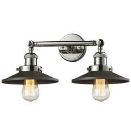 208 Railroad 2 Light Wall Mount Innovations Lighting