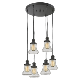 212/6 Bellmont 6 Light Pendant