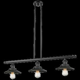 Railroad 3 Light Island Pendant Innovations Lighting