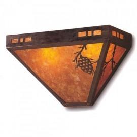 119 Craftsman Pasadena Sconce Mica Lamp
