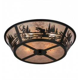 26222 Fly Fishing Creek Flushmount